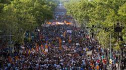 Grande manifestation à Barcelone, neuf jours après les