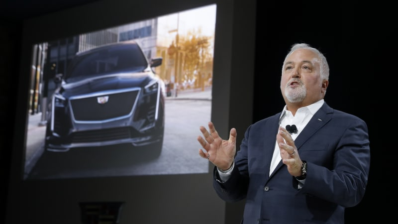 Cadillac vehicles to go electric by 2030 — and will get real names