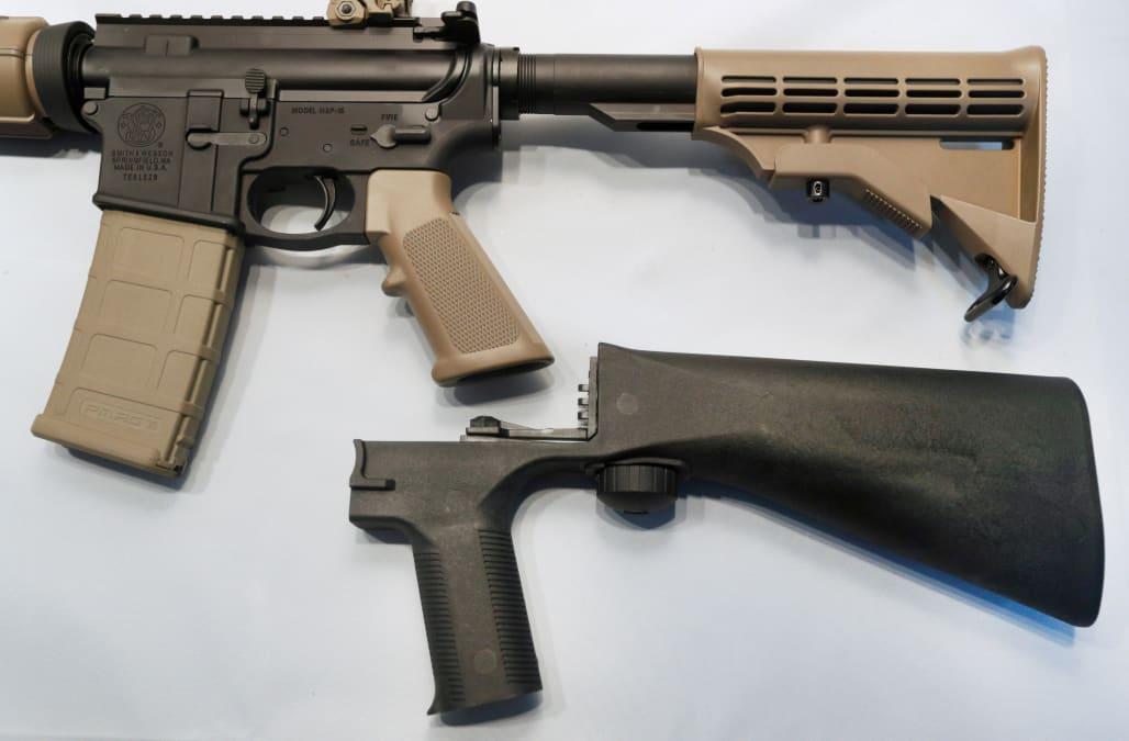 Judge gives green light to Donald Trump's ban on gun 'bump stocks