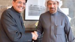 Spot What's Odd In This Photo Of Coal Min Piyush Goyal Meeting His Saudi