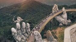 Ce pont soutenu par des mains est tout simplement