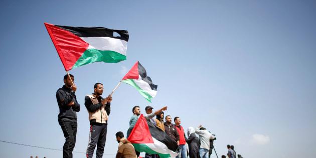 """La """"Marche du retour"""", protestation symbolique pour les 70 ans de la création d'Israël"""