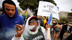 The Department Of Social Development Defends Funding Anti-Dagga Protests Outside
