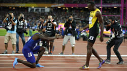 Usain Bolt Comes In Third At His Last 100-Metre