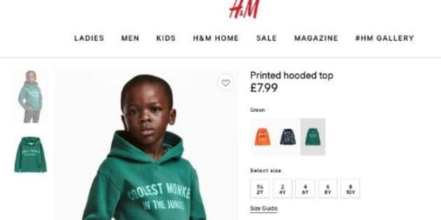 Sur Internet, H&M fait porter un sweat à message à un enfant noir et les internautes s'enflamment