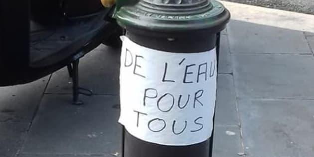 La ville de Nice conteste avoir coupé l'eau d'une fontaine pour éloigner les SDF