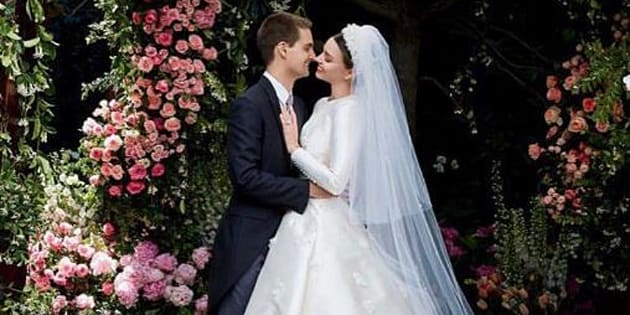 Ticinonline - Ecco l'abito di nozze di Miranda Kerr
