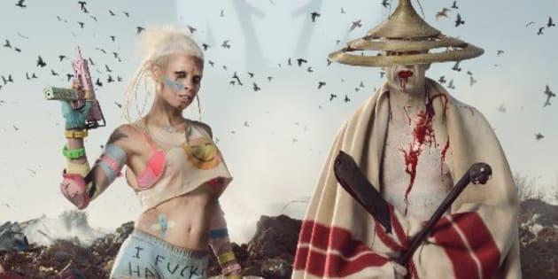 Die Antwoord's album art.