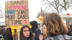 Les affiches et les slogans des manifestations de femmes rivalisent