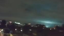 Las extrañas luces que se vieron en el cielo de México durante el