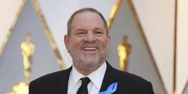 Harvey Weinstein à Los Angeles le 26 février 2017.