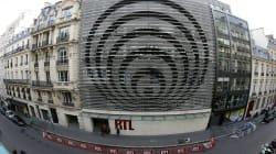 RTL déménage et décroche sa façade iconique créée par