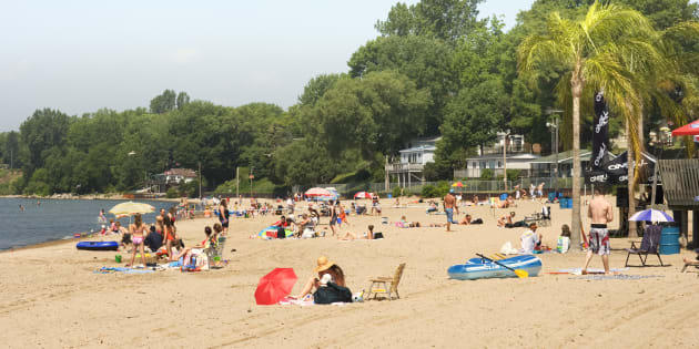 Beach in Port Dover, Ont.