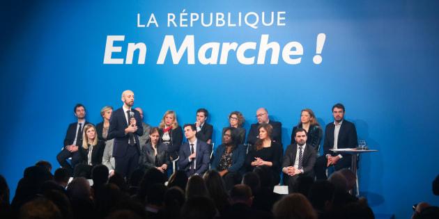 La Marche républicaine pour les libertés plonge la majorité dans l'embarras (photo prise le 24 janvier à Paris).