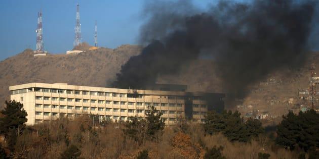 Kaboul: au moins 18 morts à l'hôtel Intercontinental, l'attaque revendiquée par les talibans