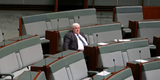 Clive Palmer's time in parliament is over