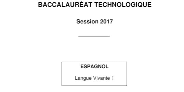 17889 élèves en bac techno obligés de repasser leur épreuve d'espagnol LV1