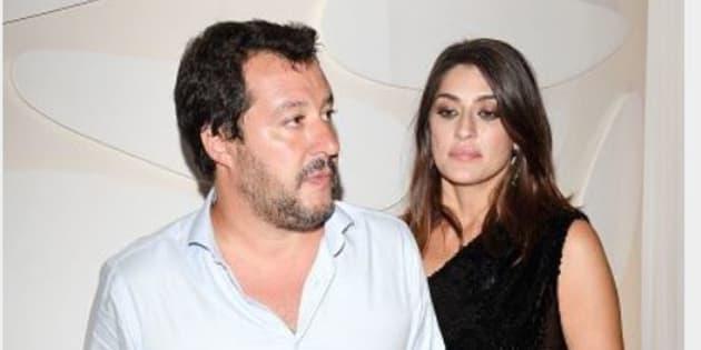 Matteo Salvini commenta l'addio social di Elisa Isoardi: l'amara dichiarazione
