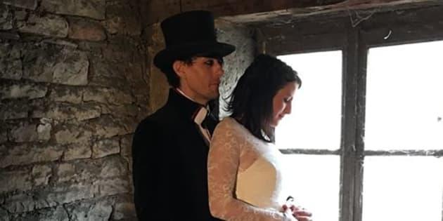 Olivier Streiff et son épouse Nina
