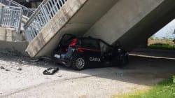 Crolla viadotto a Fossano: carabinieri sentono scricchiolii e si mettono in salvo per un