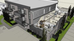 Edmonton's New Shipping Container Apartment Almost Ready To