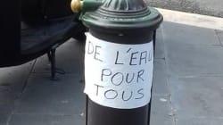 La ville de Nice conteste avoir coupé l'eau d'une fontaine pour éloigner les