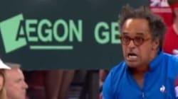 Coupe Davis: l'attitude de Noah sur le banc en dit long sur ce qu'il se passe pendant les