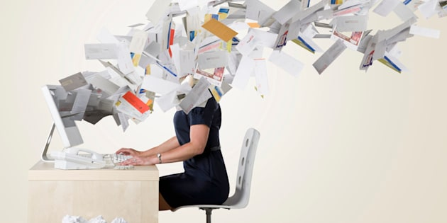 """Fewer people reported feeling overwhelmed by """"information overload"""" this year than did in 2006, according to surveys from the Pew Research Center."""