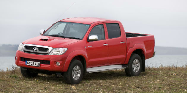 The Toyota HiLux ute doesn't pass the 'moose test'.