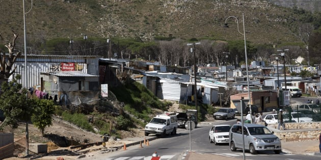 Imizamo Yethu Township Western Cape South Africa a General View of the Imizamo Yethu Township at Hout Bay And the Sub Standard Housing In Which the Residents Live. (Photo by: Education Images/UIG via Getty Images)