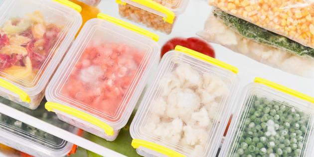 USDA explica por que o congelamento é um método seguro de armazenamento.