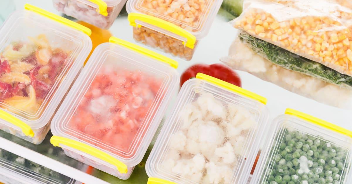 Veja por quanto tempo você pode congelar alimentos antes que estraguem
