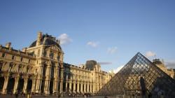 Estos dos edificios están haciendo guarrerías y al Louvre no le
