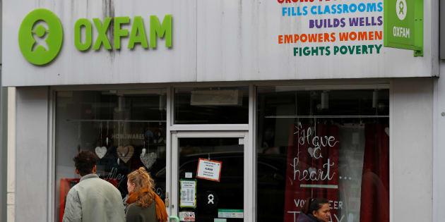 Una tienda de la ONG Oxfam en Londres, Inglaterra, el 11 de febrero de 2018.