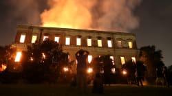 ブラジル国立博物館が炎に包まれる。2000万点以上の収蔵品がほぼ全滅か(動画)