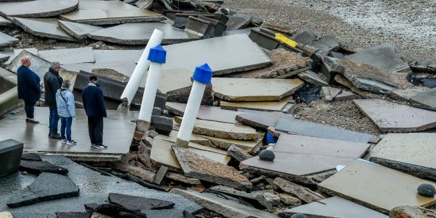 La tempête Eleanor a fait un 7ème mort (image d'illustration, Wimereux)
