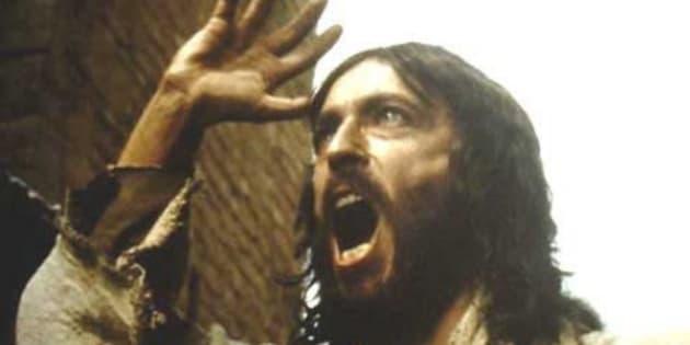 Imagen del actor Robert Powell interpretando a Jesucristo en la película 'Jesús de Nazaret'.