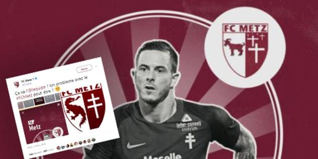 Le FC Metz n'a pas apprécié ce fail de l'Equipe sur son logo