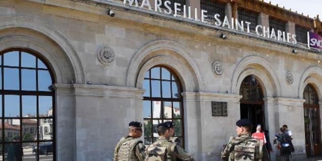 Évacuation de gare Saint-Charles de Marseille: la garde à vue de l'individu suspect arrêté samedi a été levée