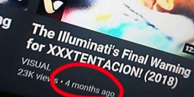 Certains fans pensent que XXXTentacion n'est pas mort (alors qu'il l'est)