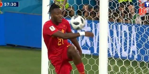 Angleterre-Belgique à la Coupe du monde: Plus que le but sublime des Belges, c'est la célébration de Michy Batshuayi que l'on retiendra.