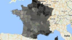 Où Marine Le Pen fait-elle ses meilleurs