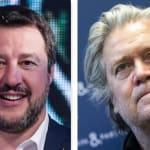 Time incorona Matteo Salvini fra i top leader. E Bannon lo