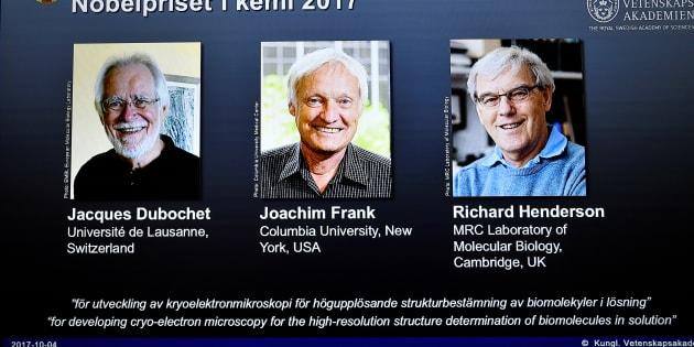 Des chercheurs en cryo- microscopie primés