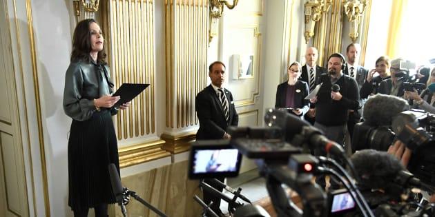 MeToo:  Sara Danius, la patronne de l'Académie qui décerne le Nobel de littérature forcée de démissionner
