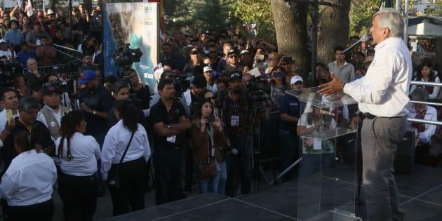 López Obrador ha propuesto integrar en un solo organismo a todas las corporaciones policiacas y castrenses.