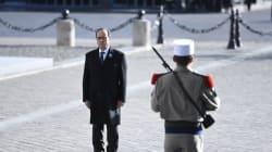 François Hollande célèbre le dernier 11 novembre de son