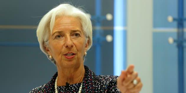Christine Lagarde à Washington le 3 avril 2017.