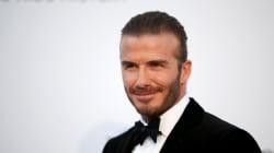 À la vente aux enchères du gala amfAR, Beckham a rapporté