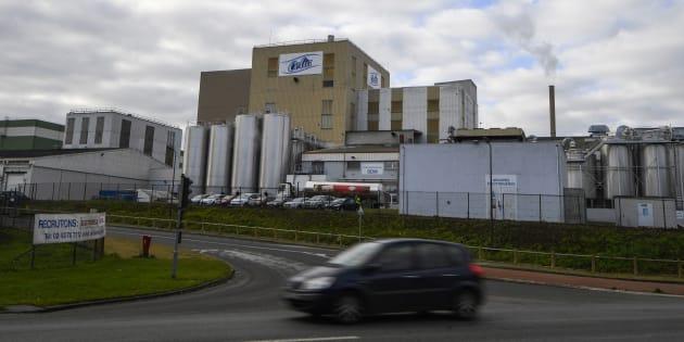 Lactalis: l'usine de Craon va reprendre sa production de lait infantile, qui ne sera pas vendu pour le moment.